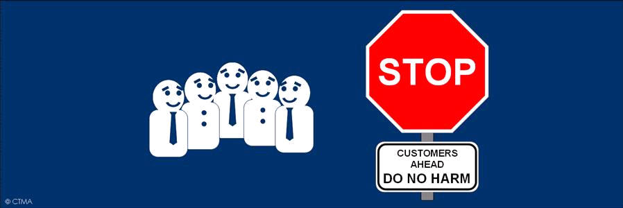 Customers Ahead - Do No Harm